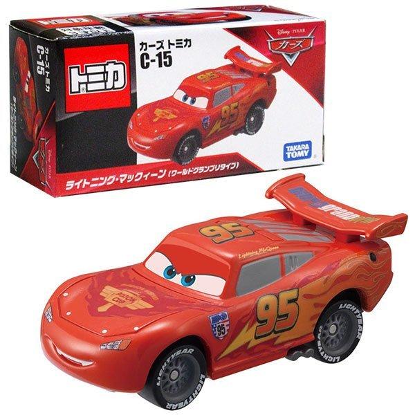 TOMICA 多美CARS小汽車 #C-15 閃電麥坤 (世界大賽)