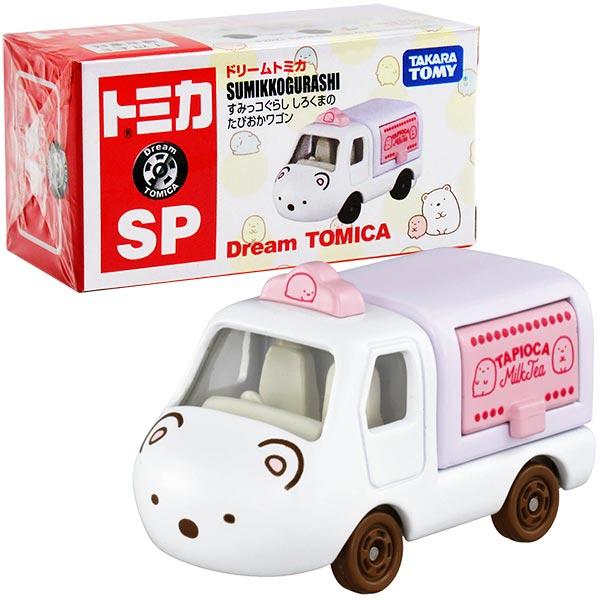 TOMICA 夢幻多美小汽車 DT角落小夥伴 白熊小貨車(珍奶)