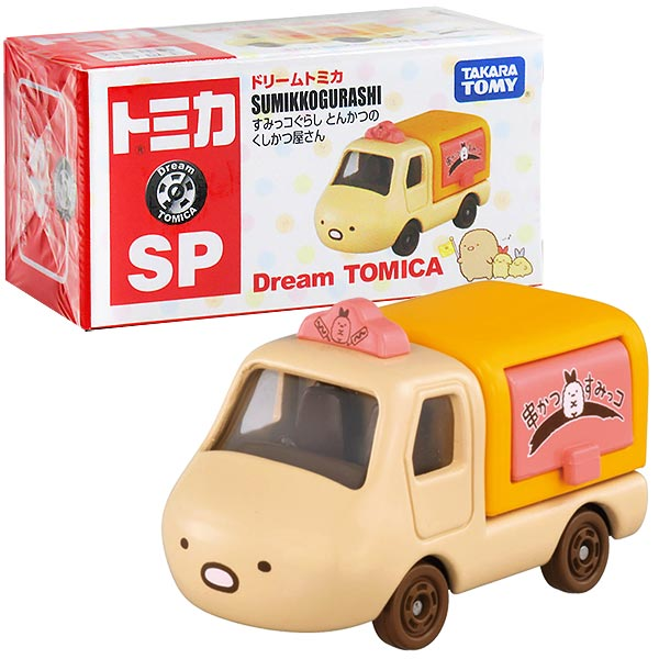 TOMICA 夢幻多美小汽車 DT角落小夥伴 炸豬排小貨車
