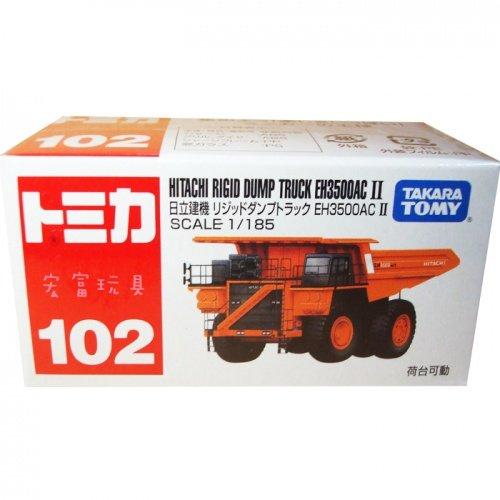 TOMICA 多美小汽車 #102 日立建機傾倒卡車