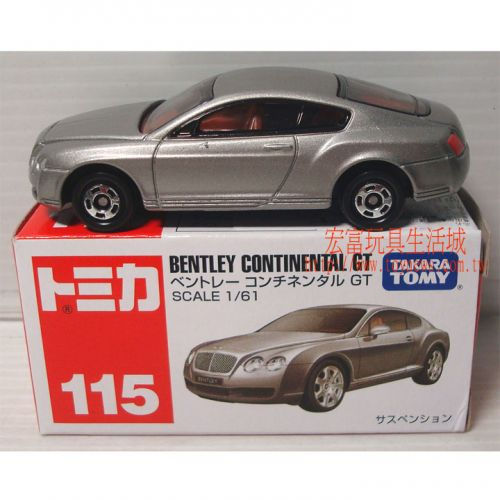 TOMICA 多美小汽車 #115 賓利 BENTLEY CONTINENTAL GT