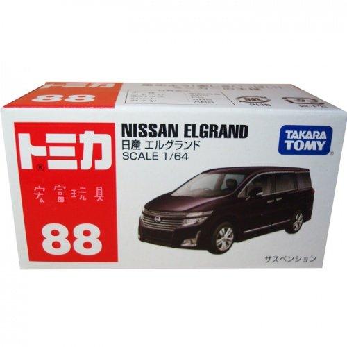 TOMICA 多美小汽車#88 NISSAN ELGRAND