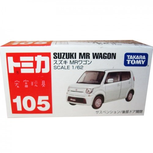 TOMICA 多美小汽車 #105 Suzuki MR Wagon