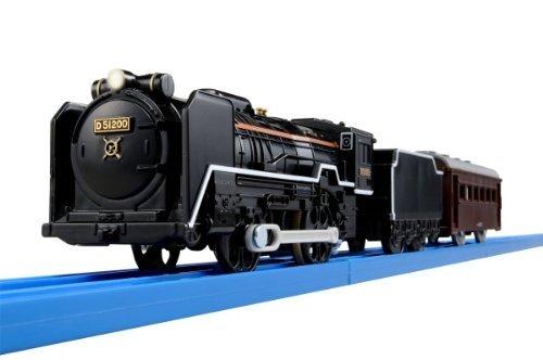 TOMY PLA RAIL S-28 D51 200號機蒸氣機關車 【有燈光】 【未含軌道】