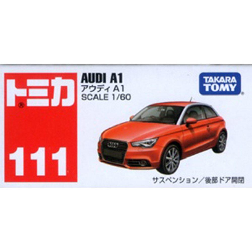 TOMICA 多美小汽車 #111 AUDI A1