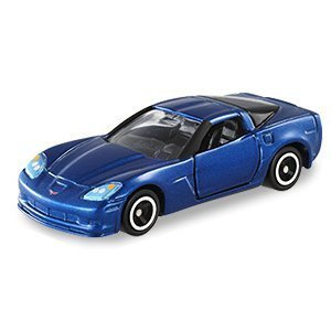 TOMICA 多美小汽車 #5 CHEVROLET Z06 雪芙蘭(藍色)