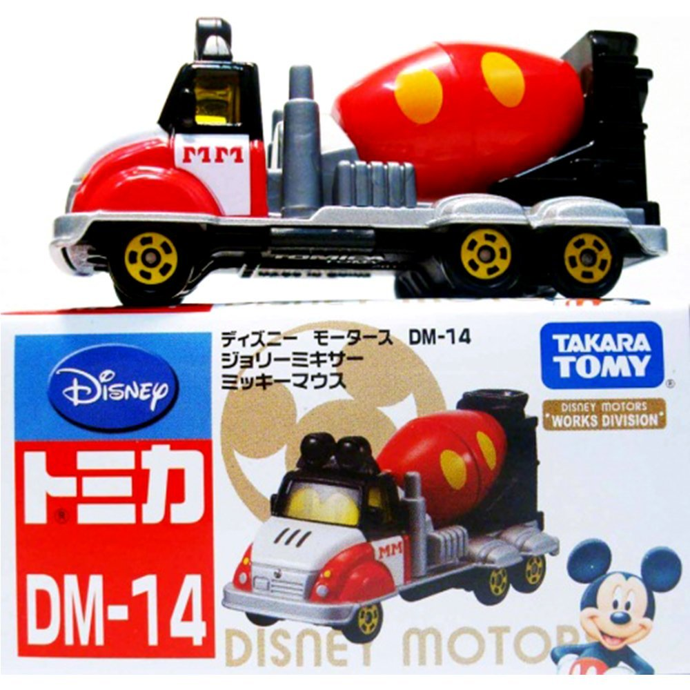 TOMICA 多美迪士尼小汽車 DM-14 夢幻米奇水泥車