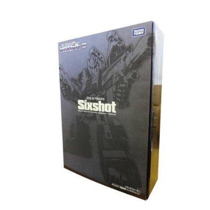 變形金剛 日版 sixshot 六面獸 限定版 金屬塗裝