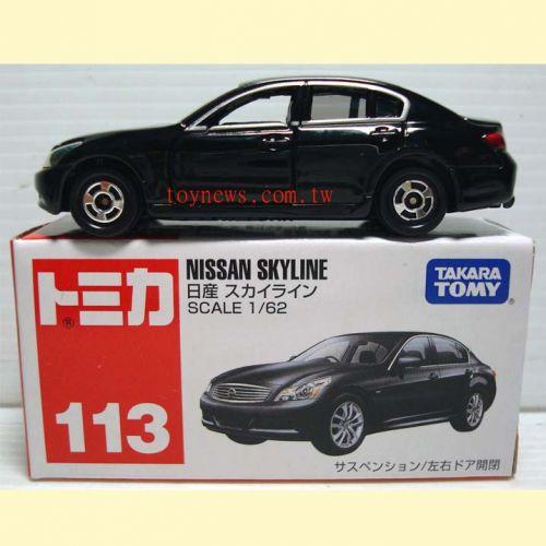 TOMICA 多美小汽車#113 NISSAN SKYLINE