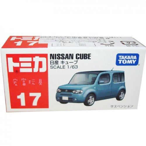 TOMICA 多美小汽車 #17 日產新車 NISSAN CUBE