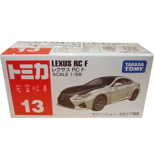 TOMICA 多美小汽車 #13 凌志 LEXUS RC F
