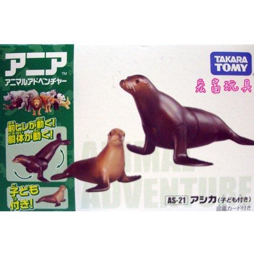 TOMY 動物模型 AS-21 海獅【附小海獅】