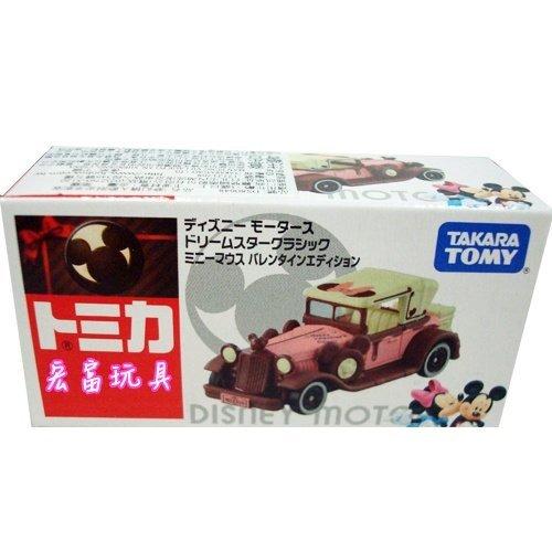 TOMICA 多美迪士尼小汽車 夢幻情人節限定米妮版