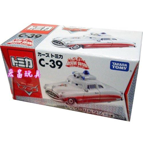 TOMICA 多美CARS小汽車 #C-39 韓大夫 急救車