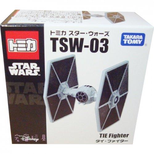 TOMICA 迪士尼星際大戰系列 TSW-03 鈦戰機