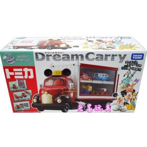 TOMICA 迪士尼夢幻展示貨櫃車 【內未附小車】