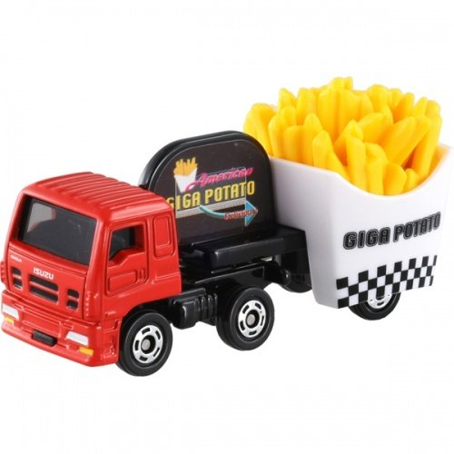 TOMICA 多美小汽車 #55 ISUZU GIGA FRIED POTATO CAR 薯條車