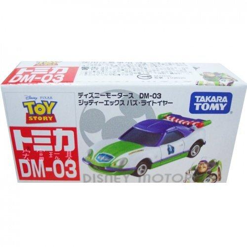 TOMICA 多美迪士尼小汽車DM-03 新!夢幻巴斯光年跑車