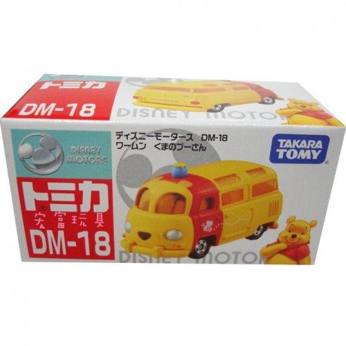TOMICA 多美迪士尼小汽車DM-18 夢幻維尼麵包車