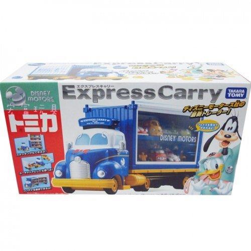TOMICA 迪士尼夢幻唐老鴨展示貨櫃車 (未含小車)