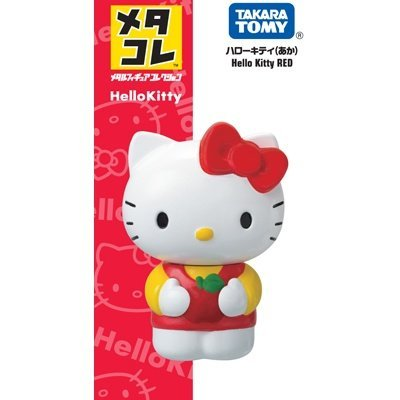 TOMICA Metacolle合金人偶系列 - Hello Kitty(紅)
