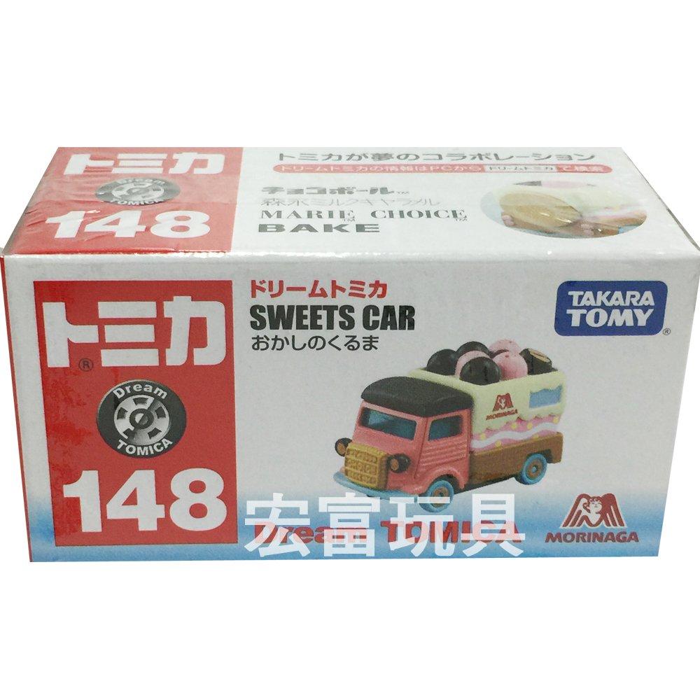 TOMICA 夢幻多美小汽車 森永巧克力餅乾車