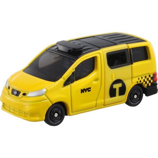 TOMICA 多美小汽車 #27 日產NV200 紐約計程車(一般版)
