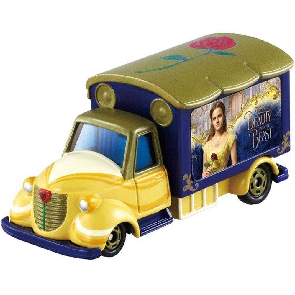 TOMICA 夢幻迪士尼 美女與野獸 販賣店特別式樣車