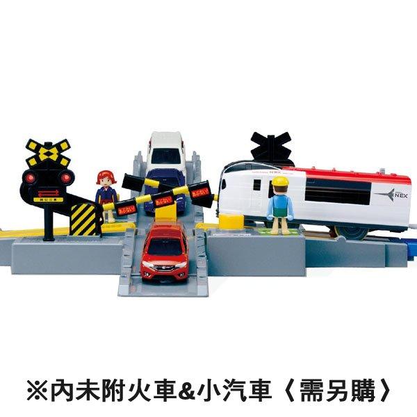 TOMY 軌道場景組 J-20 汽車平交道