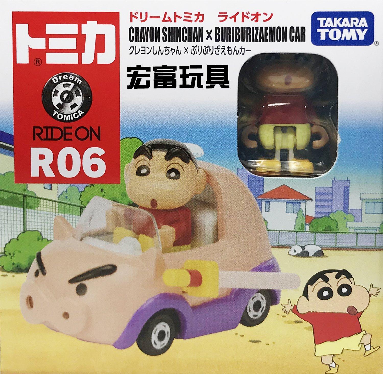 TOMICA 夢幻多美小汽車 騎乘系列 R06 蠟筆小新