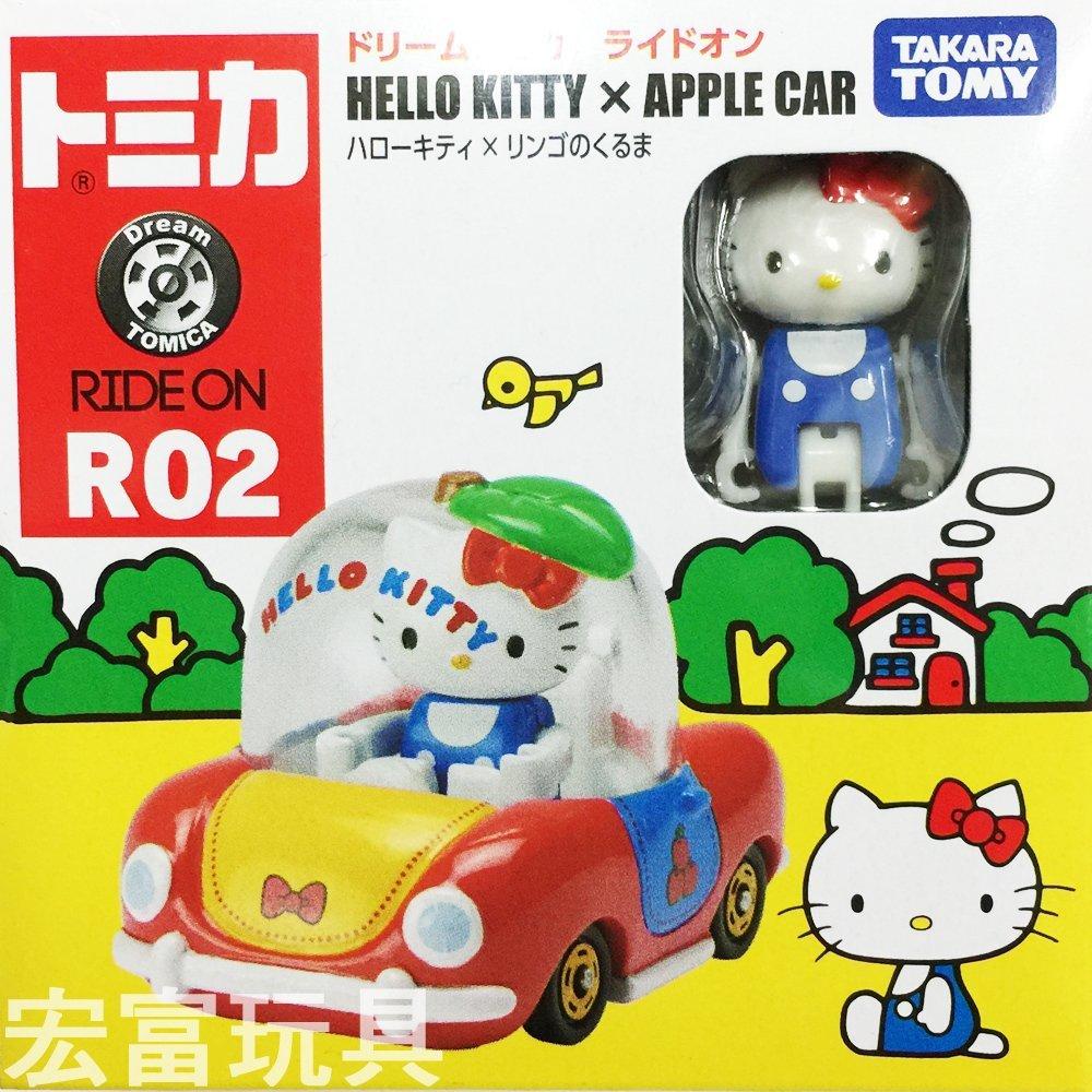 TOMICA 夢幻多美小汽車 騎乘系列 R02 Kitty