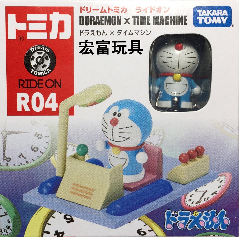 TOMICA 夢幻多美小汽車 騎乘系列 R04 哆啦A夢時光機
