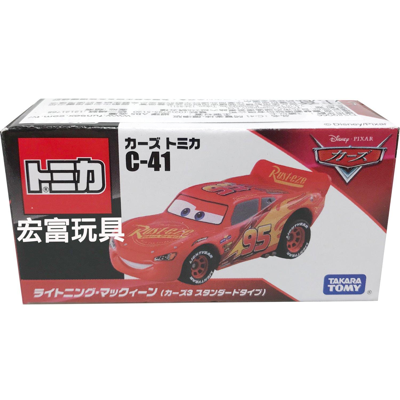 TOMICA 多美CARS小汽車 #C-41 閃電麥坤 - 標準版
