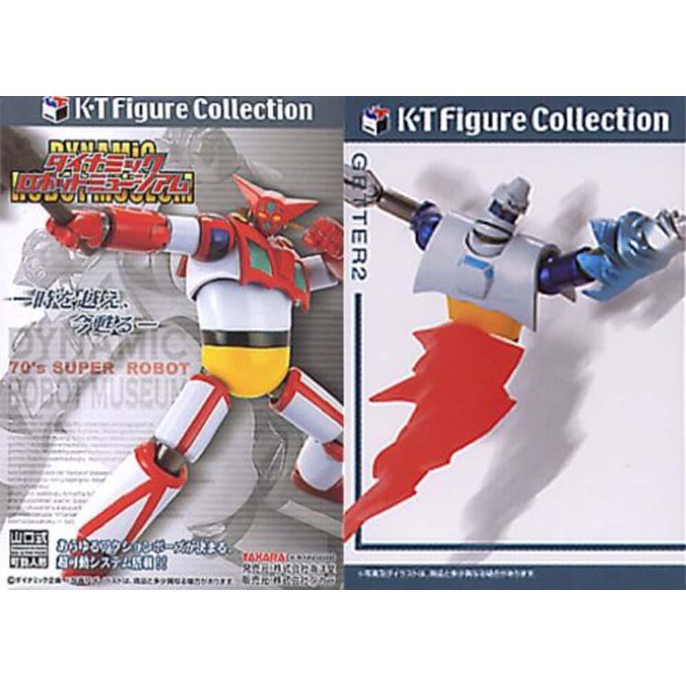 海洋堂&Takara--K‧T系列:山口式可動機器人博物館~ 單款