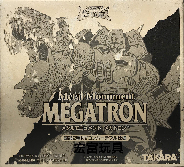 TAKARA 變形金剛 Metal Monument MEGATRON 金屬雕像
