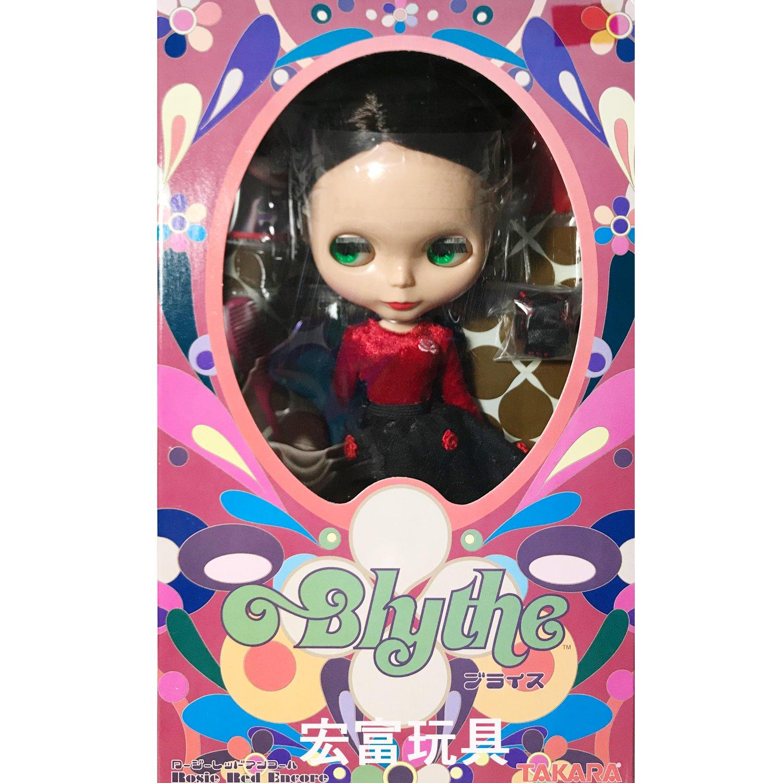 碧麗絲BLYTHE娃娃 紅玫瑰小布