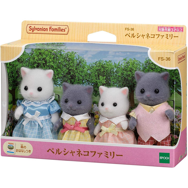 EPOCH 森林家族 - 新波斯貓家庭組
