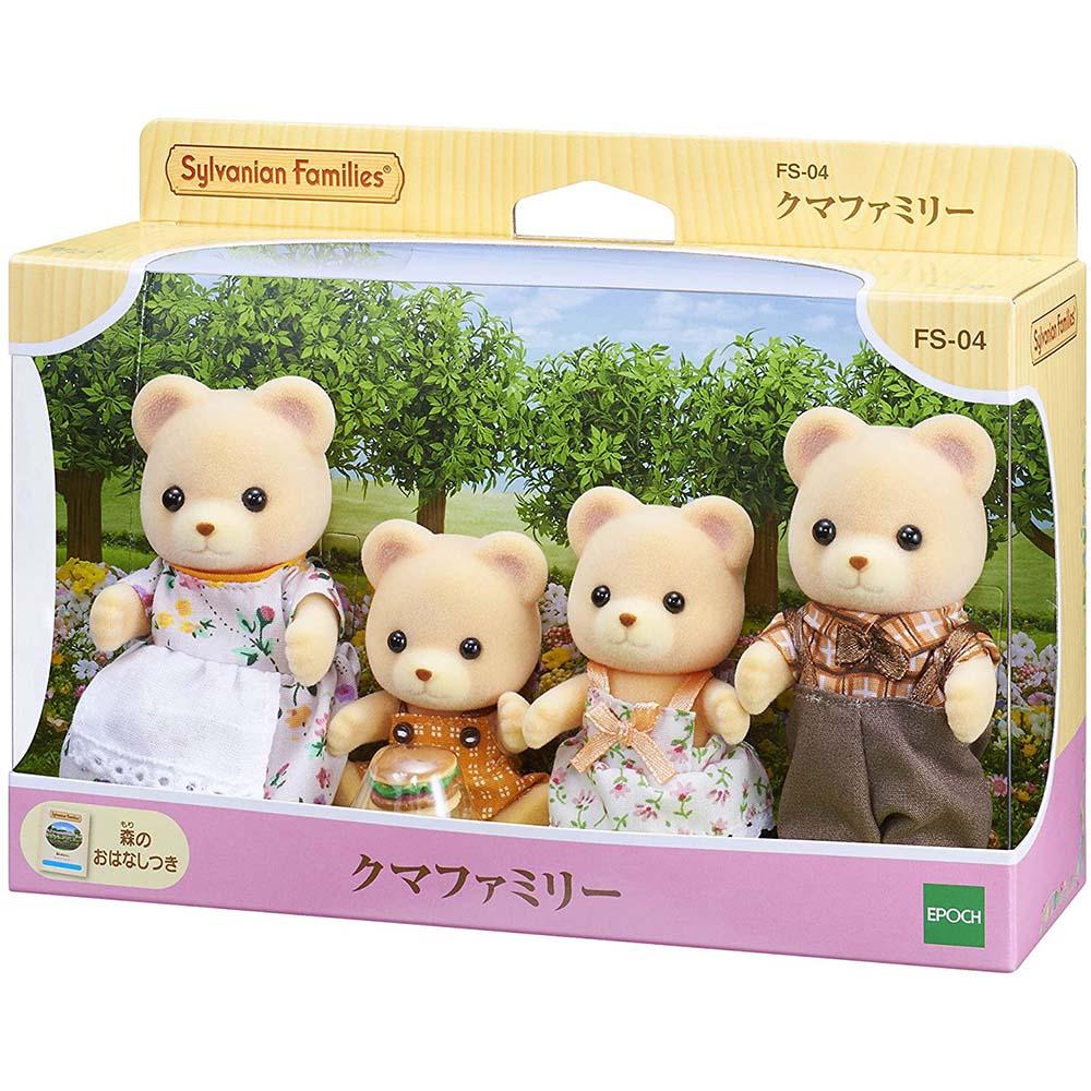 森林家族 - 黃熊家庭組