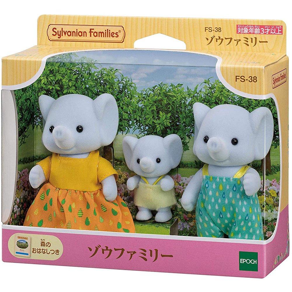 森林家族 - 大象家族組