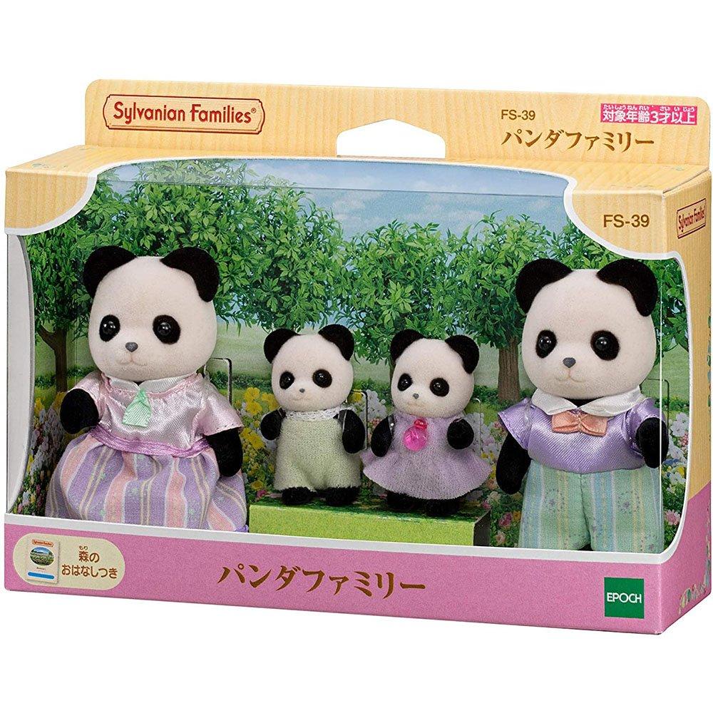 森林家族 - 熊貓家族組