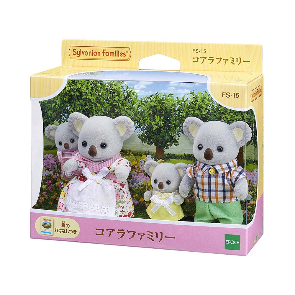 森林家族 - 無尾熊家庭組