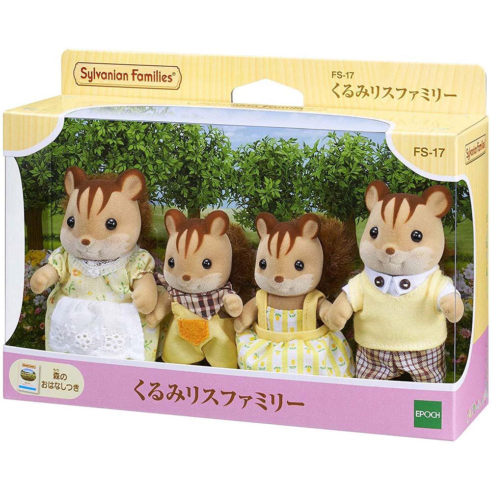 森林家族 - 紅松鼠家庭組