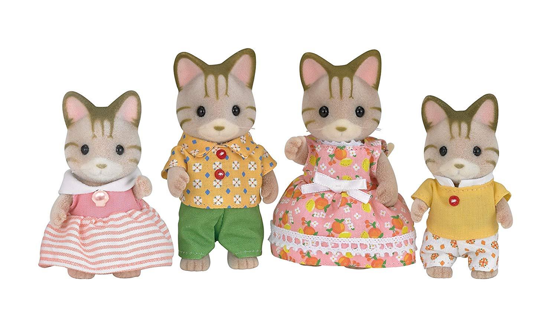 森林家族 - 斑紋貓家庭組