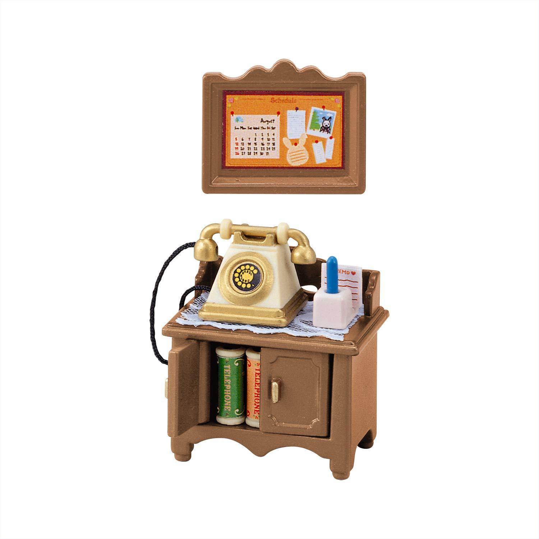 森林家族 - 復古電話機及矮桌組