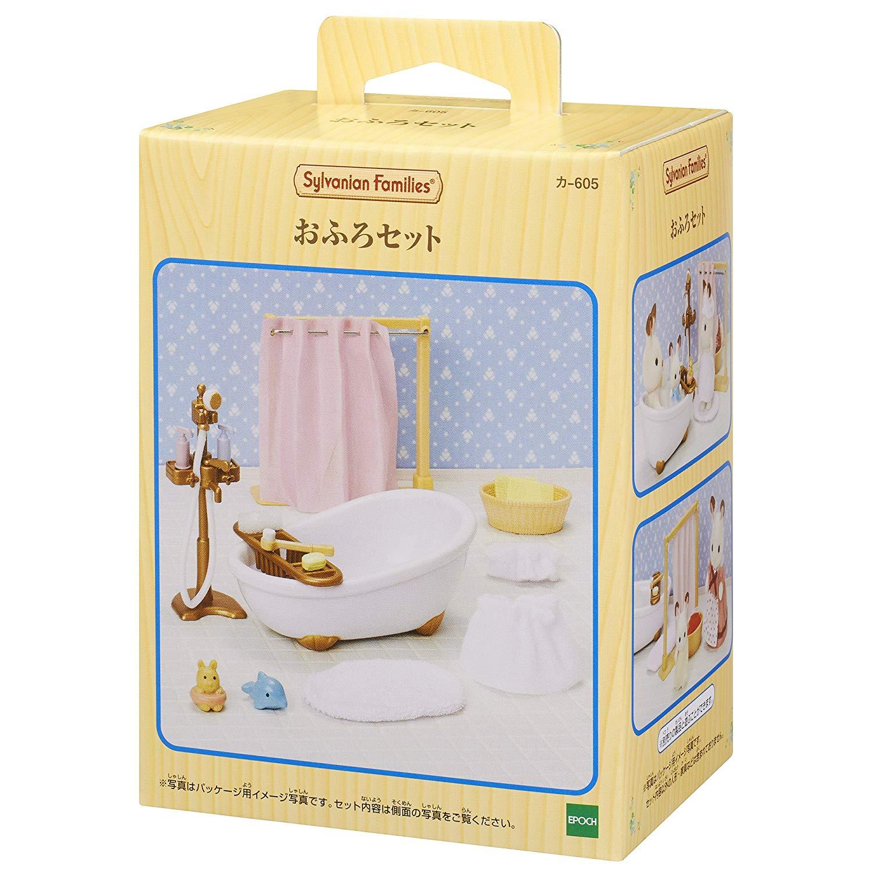 森林家族 - 浴室淋浴組