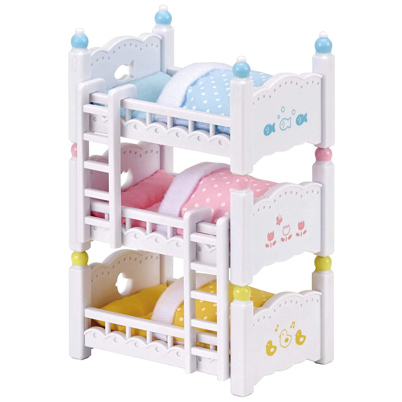 森林家族 嬰兒三層床