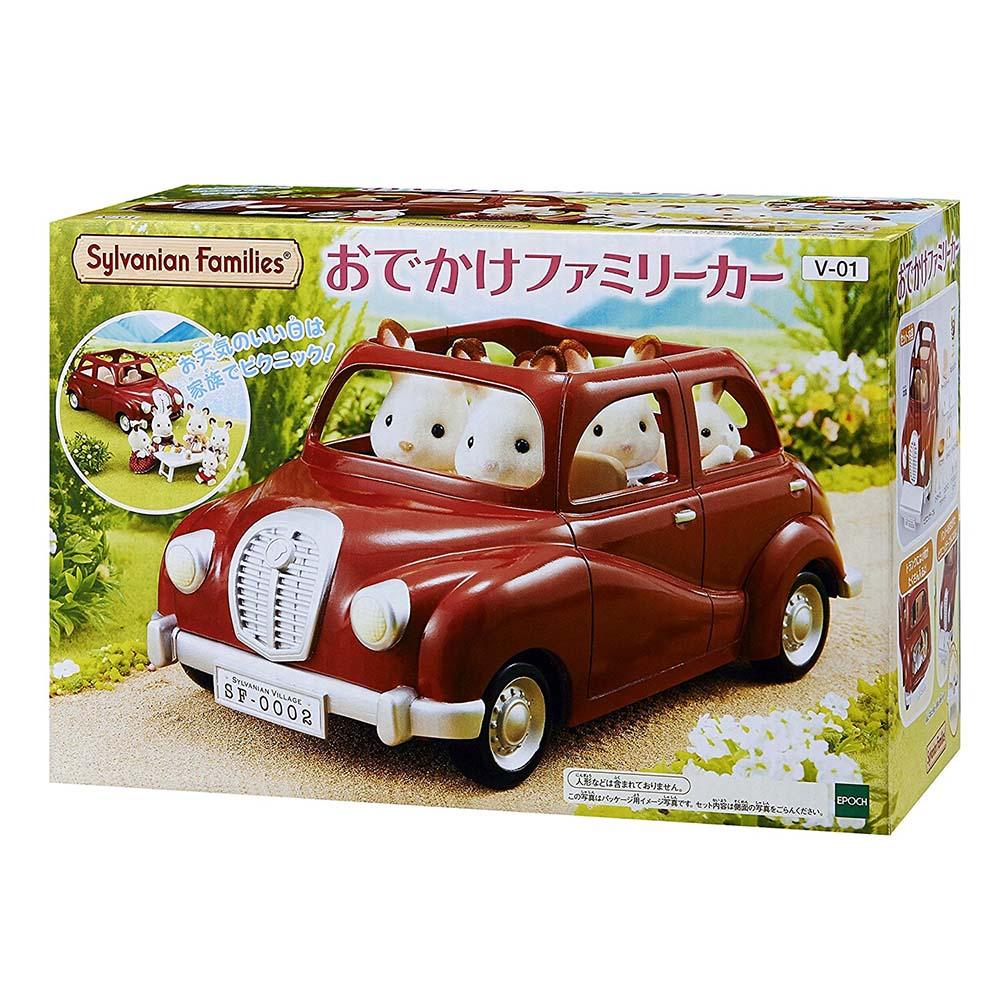 森林家族 家庭車(紅) 【內未附娃娃】