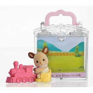 森林家族 - 鹿嬰兒 火車提盒