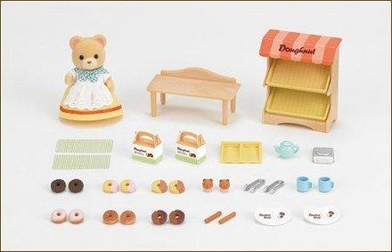 森林家族 - 黃熊甜甜圈鋪