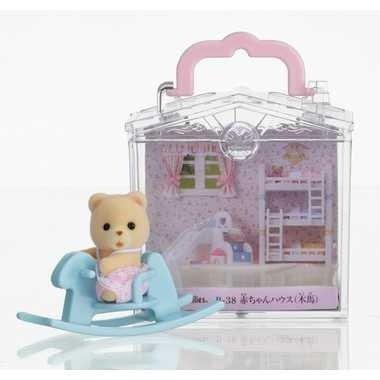 森林家族 - 嬰兒木馬提盒
